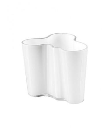 Vaso Alvar Aalto Bianco altezza 95mm
