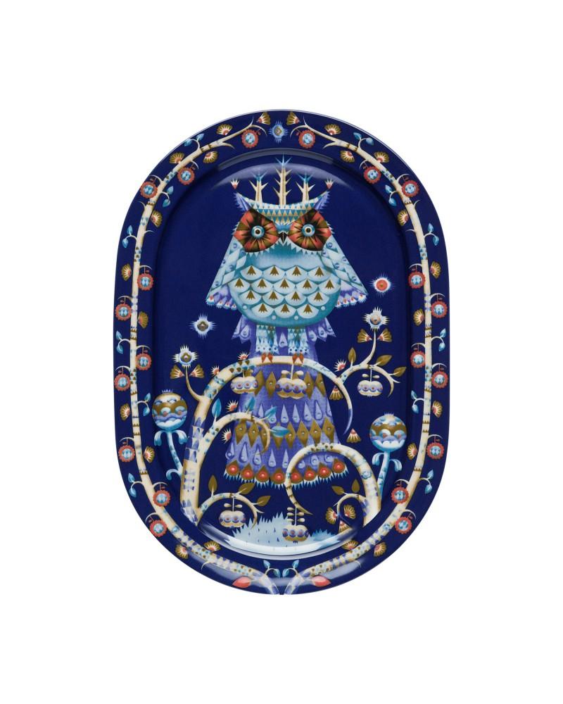 Piatto da portata Taika blue